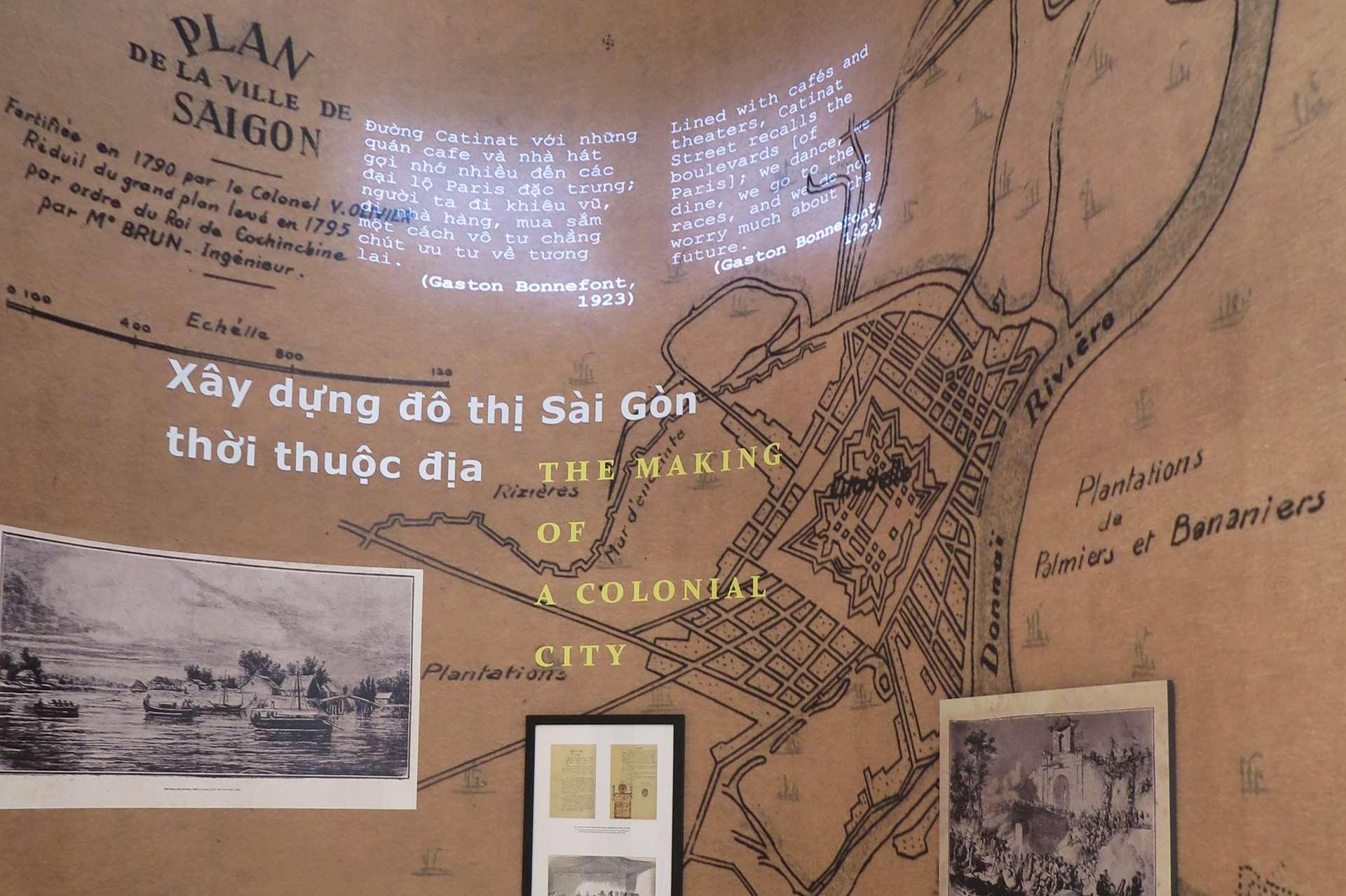 Bản đồ Sài Gòn 1795